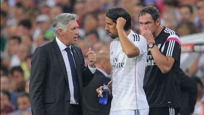 Carlo Ancelotti Tanggapi Sami Khedira: Maaf Tidak Ada Lowongan