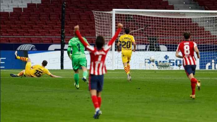Rapor Pemain Barcelona Kalah 1-0 di Atletico, Kekalahan Pertama Dari Simeone