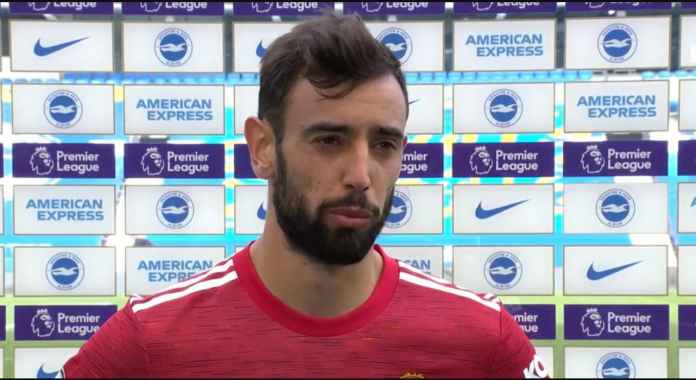 Golnya Nyaris Dicuri Rashford, Bruno Fernandes : Saya Tak Peduli!