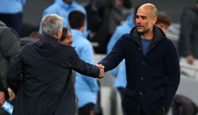Tidak Terima Man City Dikalahkan Spurs, Pep Guardiola Sindir Taktik Jose Mourinho