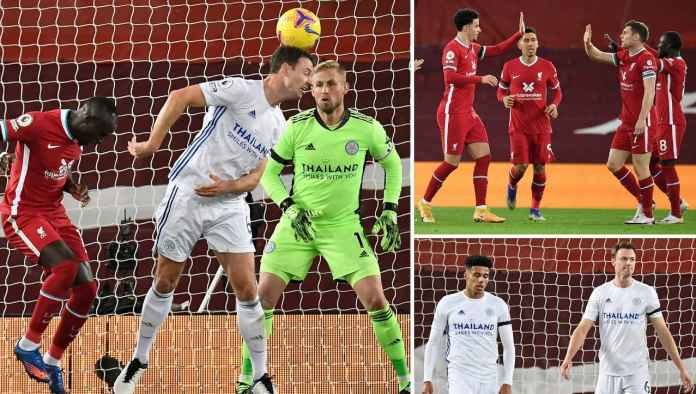 Mantan MU Gol Sundulan, Tapi Ke Gawang Sendiri, Leicester Tertinggal 2-0!