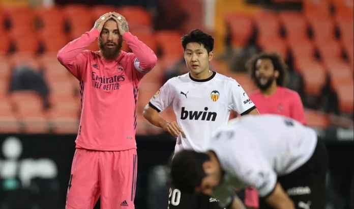 Rapor Real Madrid Kalah 4-1 di Valencia: Kalah oleh 3 Penalti dan 1 Bunuh Diri