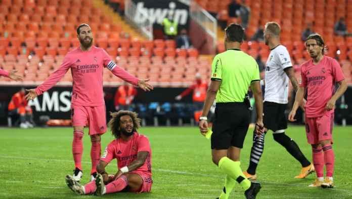 Real Madrid kalah 4-1, empat bek Los Blancos menyumbang empat kesalahan
