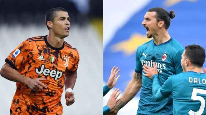 Starting XI Terbaik Liga Italia : CR7 & Ibra Jadi Pahlawan, Tapi Kok Nggak Masuk?