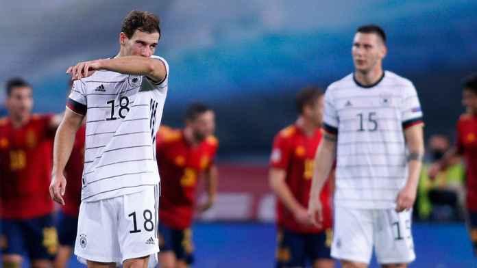 Dibantai Spanyol 6-0, Rekor Kekalahan Terburuk Jerman Dalam 89 Tahun