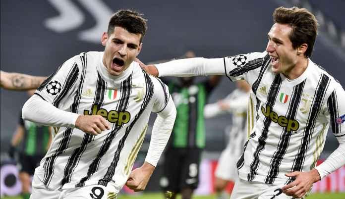 Bangga Cetak Gol Kemenangan Juventus, Alvaro Morata : Saya Pemain Lengkap!
