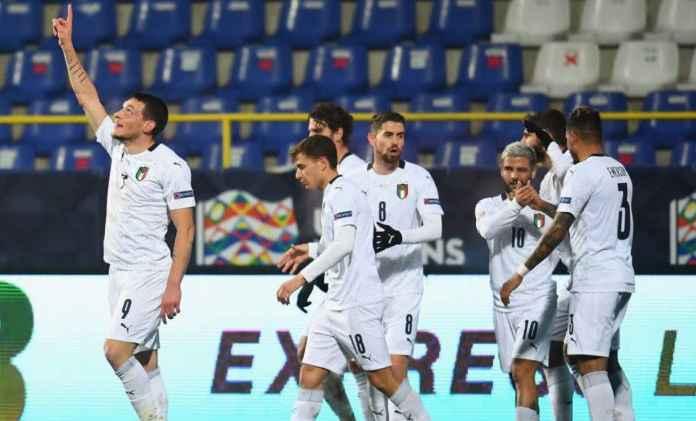 Lolos Putaran Final UEFA Nations League, Italia Gabung Perancis, Spanyol, Belgia