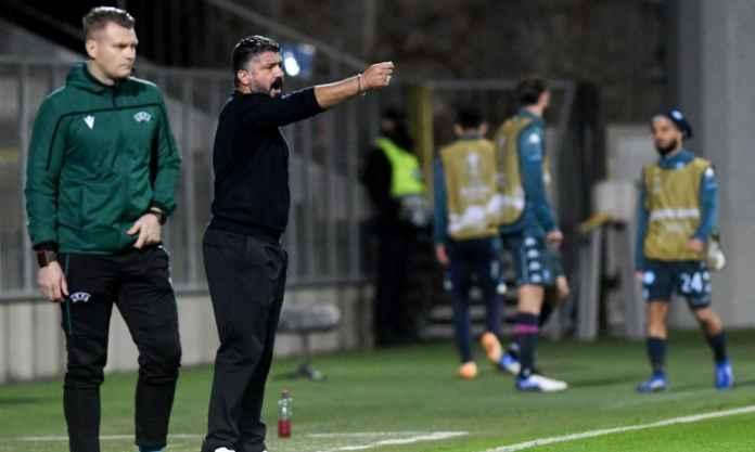 Napoli Gagal, Gattuso: Jangan Bangun Menunggu Tamparan!