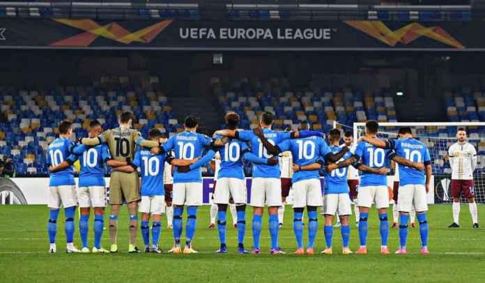 Pemain Napoli Akui Susah Fokus Di Liga Europa Usai Kematian Diego Maradona