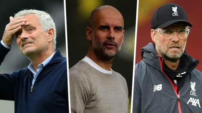 Javier Tebas Ingin Kumpulkan Guardiola, Mourinho, Klopp di Liga Spanyol