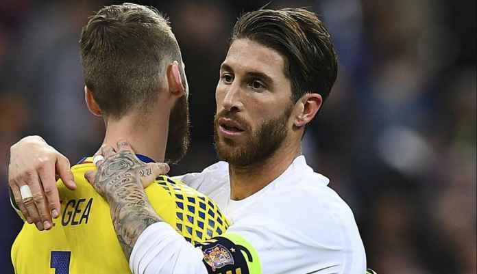 Manchester United Jajaki Kemungkinan Bawa Sergio Ramos Bebas Transfer