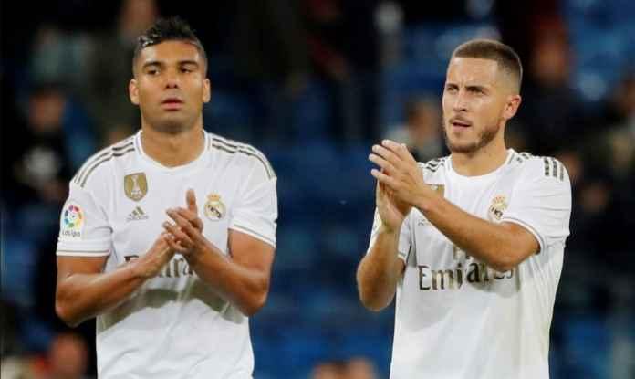Eden Hazard, Casemiro Ketularan Covid, Absen Bela Madrid Kontra Valencia