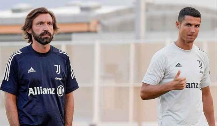 Andrea Pirlo Jelaskan Alasan Istirahatkan Cristiano Ronaldo Kontra Benevento
