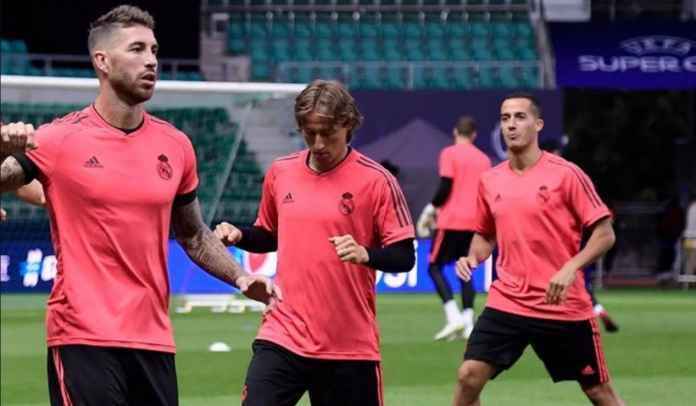 Konflik Kontrak Real Madrid : Sergio Ramos, Luka Modric, Lucas Vazquez, Nacho