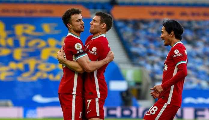 Liverpool Hilang Dua Poin di Brighton, Salahkan Andy Robertson Saja