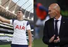 Sergio Reguilon ungkap Zinedine Zidane alasan dirinya tinggalkan Real Madrid dan gabung Tottenham Hotspur