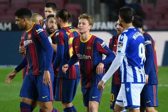 Barcelona Berhasil Mengalahkan Sociedad Terbaik pada tahun 2020