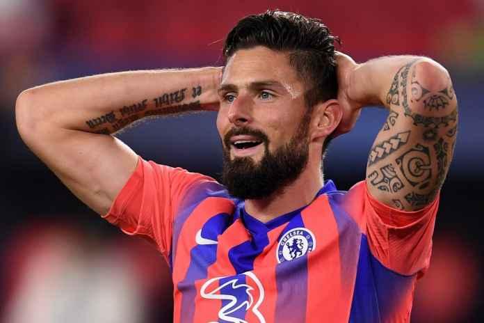 Giroud Dikhawatirkan Jika Bertahan di Chelsea