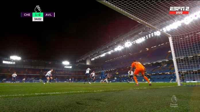 Olivier Giroud Lanjutkan Hobi Jebol Gawang Aston Villa, Chelsea Unggul 1-0