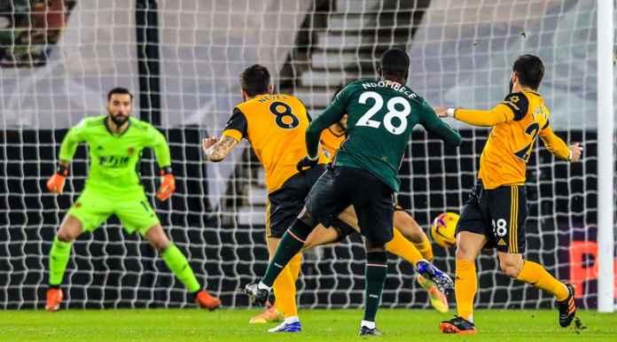 Lihat Gol 57 Detik Tottenham ke Gawang Wolves, Gara-gara Pemain Berjejal di Kotak Penalti