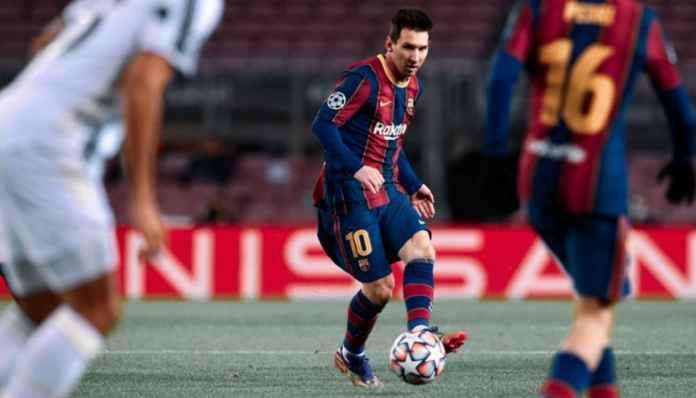 Hasil Barcelona vs Levante di Liga SPanyol - Lionel Messi Cetak Gol