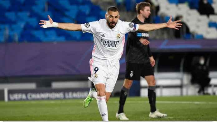 Hasil Real Madrid vs Monchengladbach: Los Blancos Lolos Berkat 2 Gol Benzema