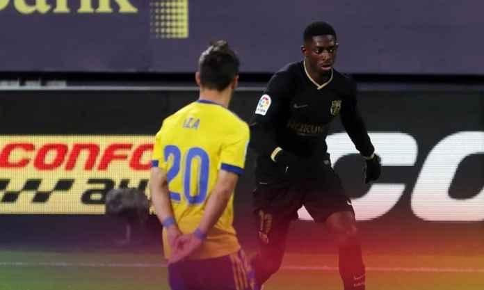Barcelona Kembali Kehilangan, Ousmane Dembele Cedera Lagi!