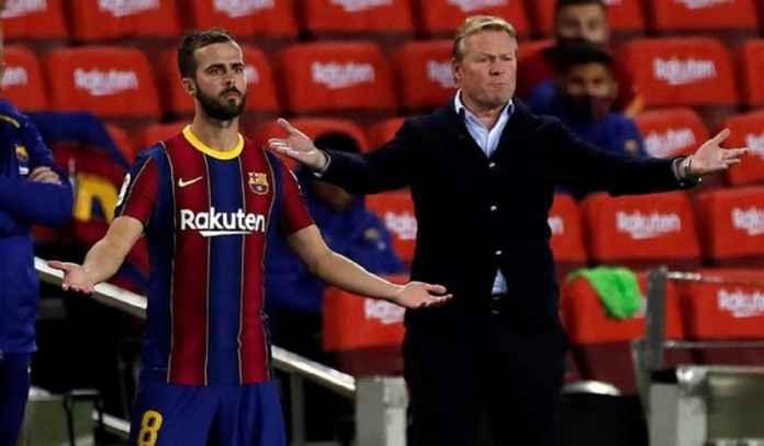 Ronald Koeman senang melihat pemain Barcelona tidak senang berada di bangku cadangan