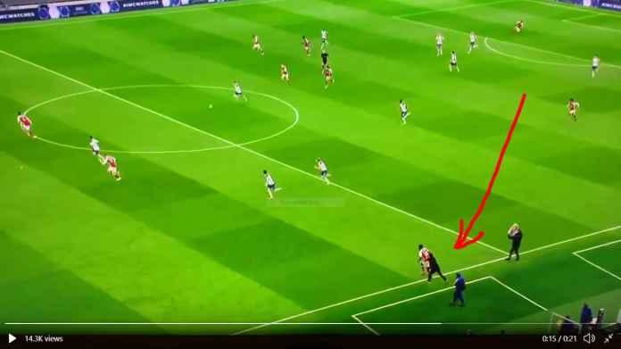 Pemain Mahal Arsenal 855 Milyar Dipaksa Terus Main Untuk Cegah Gol Kedua Tottenham