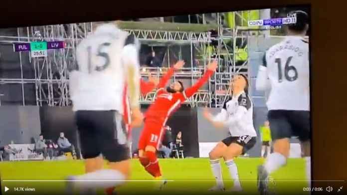 Mohamed Salah Coba-coba Diving di Fulham Tapi Gagal Total dan Jadi Bahan Tertawaan
