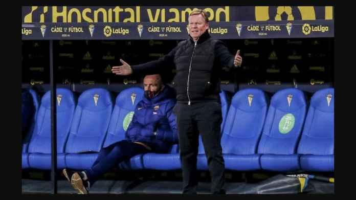 Kalah dari Cadiz, Ronald Koeman Kritik Tajam Skuad Barcelona