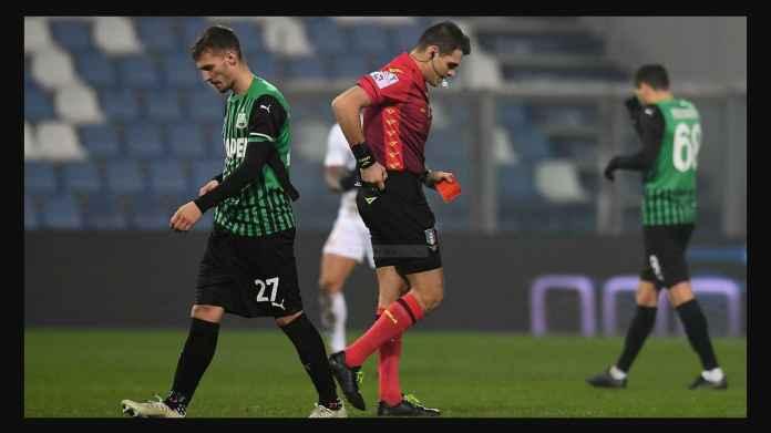 Hasil Liga Italia Tadi Malam: Sassuolo Kartu Merah, 10 Pemain, Tapi Menang dan Gusur Inter