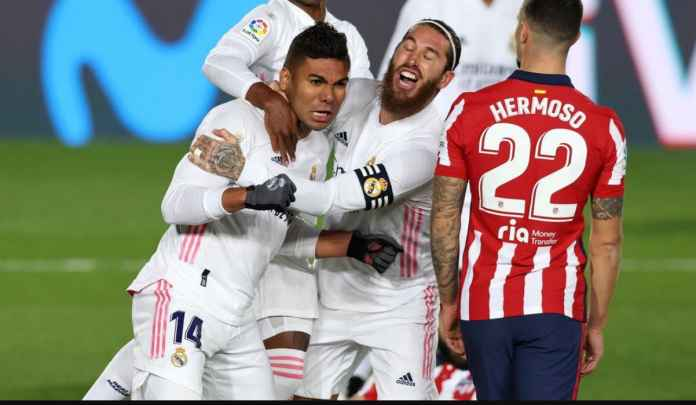 Rapor Pemain Madrid 2-0 Atletico : Akhiri 26 Laga Tak Terkalahkan Rojiblancos