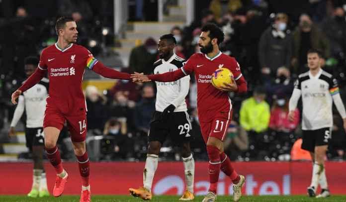 Penalti Mo Salah Selamatkan Liverpool 1-1 Dalam Laga Sulit di Fulham