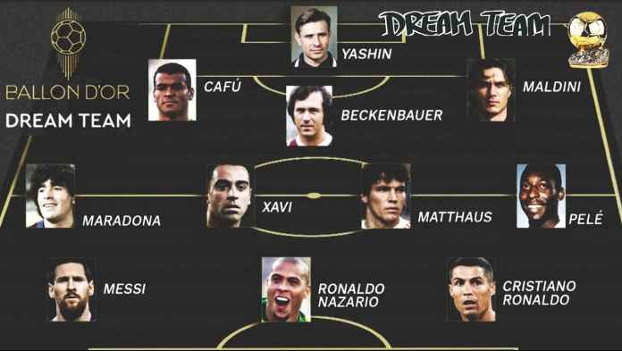 11 Pemain Dream Team Ballon d'Or, Messi & Duo Ronaldo Masuk, Zidane Out!