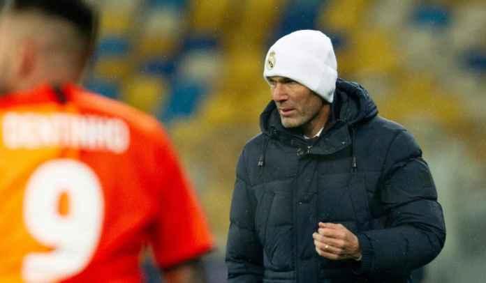 Real Madrid Sudah Kalah Lima Kali, Zidane: Saya Tidak Akan Mundur!