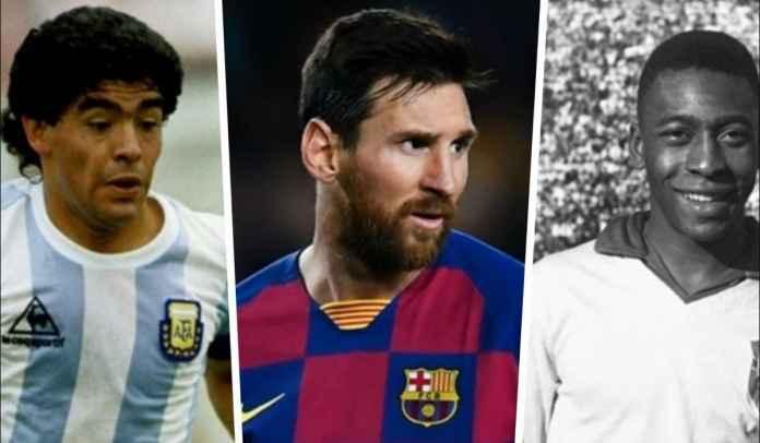 Legenda Argentina : Pele Lebih Baik Ketimbang Maradona, Messi Terbaik Terakhir!