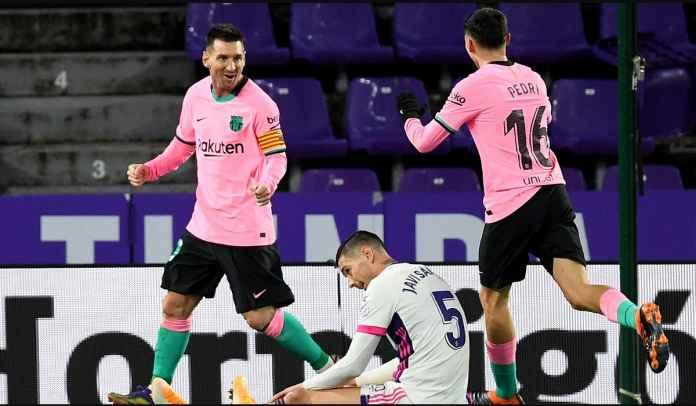 Satu Gol Ke Gawang Valladolid, Lionel Messi Kini Lewati Rekor Gol Pele