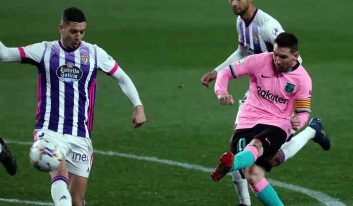 Usai Menang 0-3 di Real Valladolid, Messi Langsung Pergi Berlibur Pakai Jet Pribadi