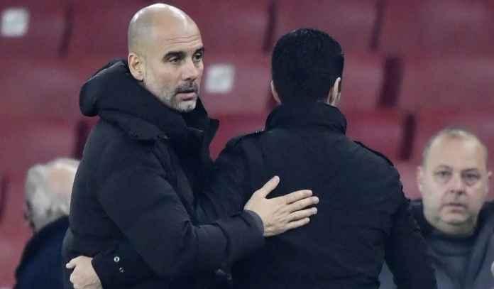 Usai Man City Bantai Arsenal, Guardiola Minta Arteta Tidak Dipecat