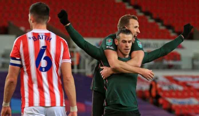 Gareth Bale Diganti Usai Cetak Gol ke Gawang Stoke, Atas Permintaannya Sendiri