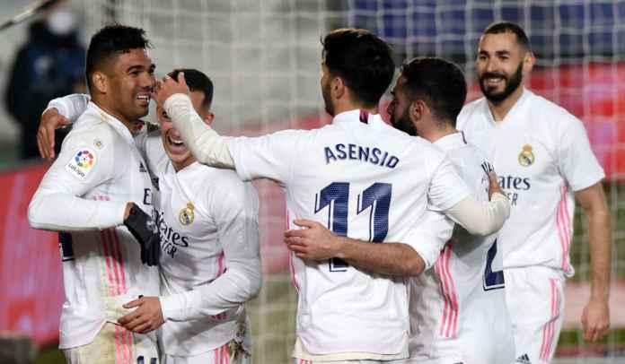 Rapor Pemain Real Madrid 2-0 Granada: Casemiro Tak Ternilai Bagi Los Blancos