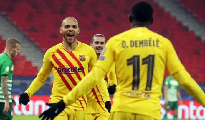 Rapor Pemain Barcelona Menang 0-4 di Ferencvaros, Barca Tak Butuh Messi