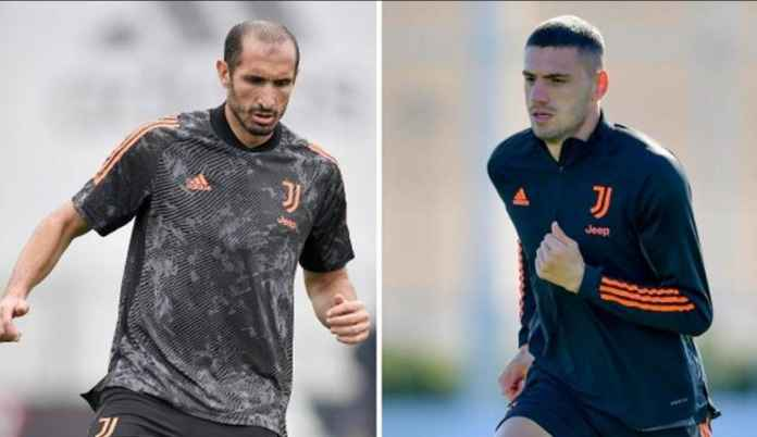 Juventus vs Dynamo Kiev: Giorgio Chiellini dan Merih Demiral Sudah Kembali