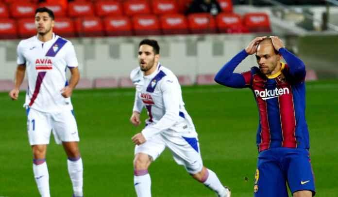 Rapor Pemain Barcelona 1-1 Eibar, Braithwaite Buang Peluang, Griezmann Payah!