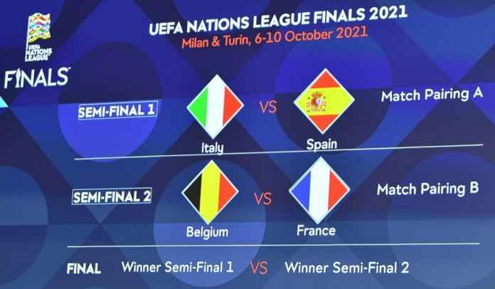 Hasil UEFA Drawing Nations League: Perancis vs Belgia, Italia vs Spanyol
