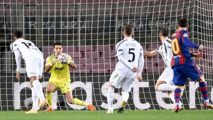 Rekor Mentereng Gianluigi Buffon Menghadapi Lionel Messi Di Liga Champions