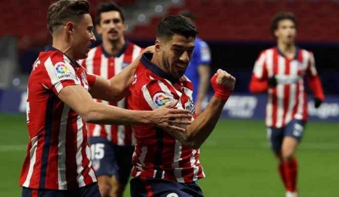 Luis Suarez Samai Rekor Radamel Falcao Usai Cetak Gol Kemenangan Atletico