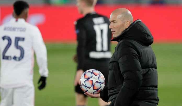 Zidane Sebut Kemenangan Atas Gladbach Permainan Terbaik Madrid Musim Ini