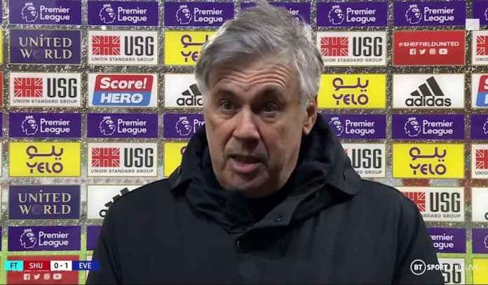 Carlo Ancelotti Terkejut, Everton Bisa Naik Urutan Kedua Klasemen